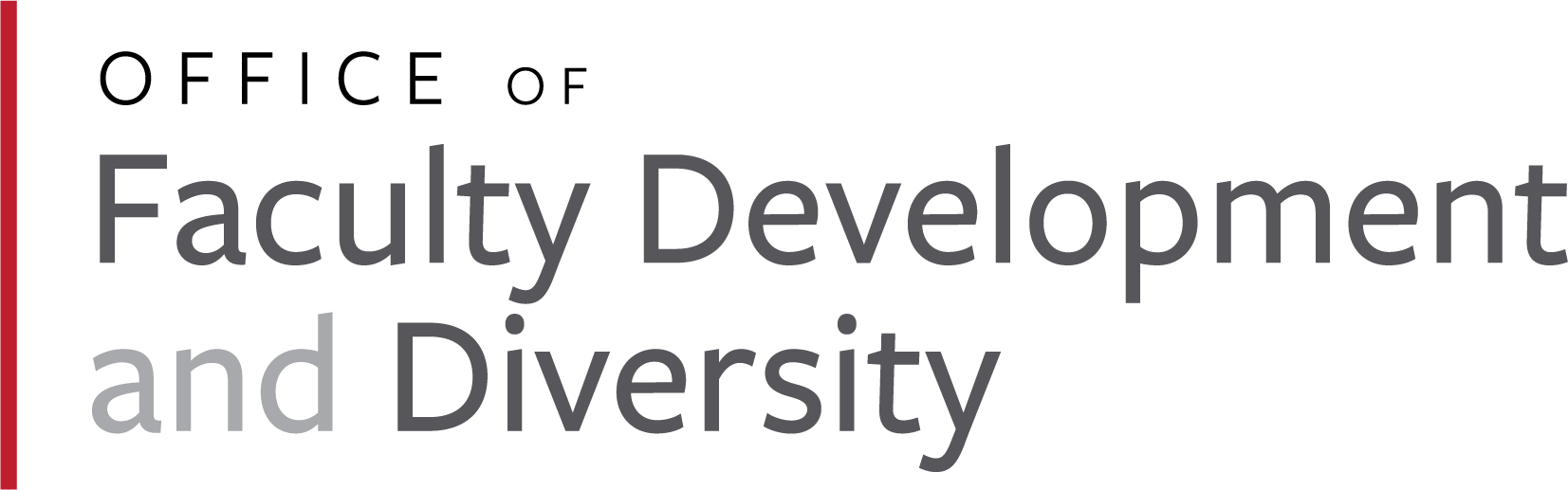 Office of Faculty Development and Diversity